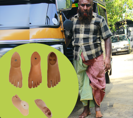 FOOT-FOR-PROSTHESIS